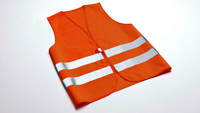 WOW Original Audi Signal Vest High visibility for Adults Orange 8X0093056A