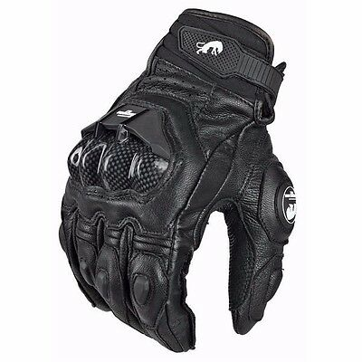 Motorcycle Gloves Moto Racing Gloves Knight Leather Ride Bike Driving
