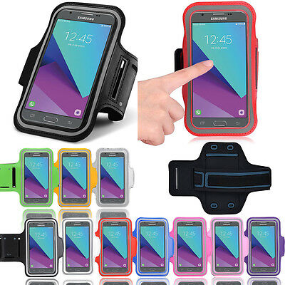 For Samsung Galaxy J3 (2016) Sports Armband Gym Running Jogging Exercise Case