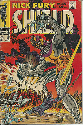 MARVEL Silver Age : Nick Fury - Agent of S.H.I.E.L.D. #2 (Steranko) autographed?