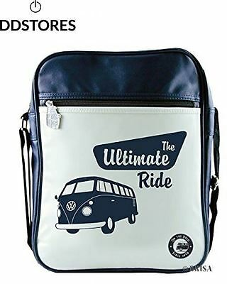 Brisa BUSP04 Sac à Bandoulière VW Combi The Ultimate Ride Bleu