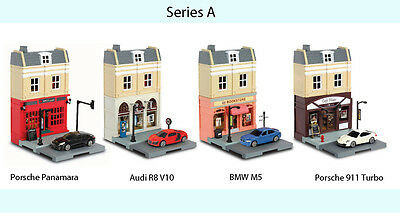 RMZ City 1:64 DIECAST Inno Diorama Model Kits Set Car European House COLLECTION