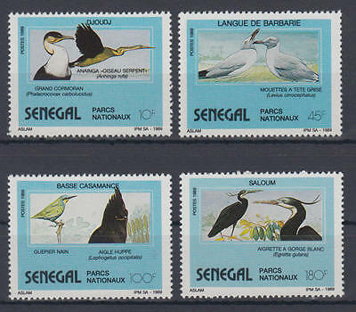Senegal - Michel-Nr. 1051-1054 postfrisch/** (Vögel / Birds)