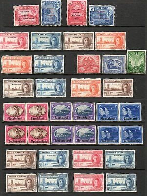 1946 Victory complete Omnibus Issue superb lightly mounted mint MLH 164 stamps