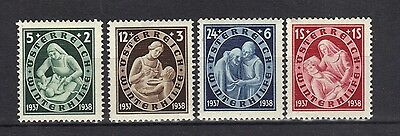 STAMPS AUSTRIA 1937 WINTER RELIEF FUND   (MINT-HINGED )  lot A 207