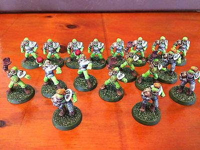 Bloodbowl Human team with star players blood bowl