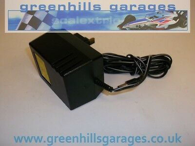 Greenhills Scalextric Transformer Power Pack Black Plug in 16v C912