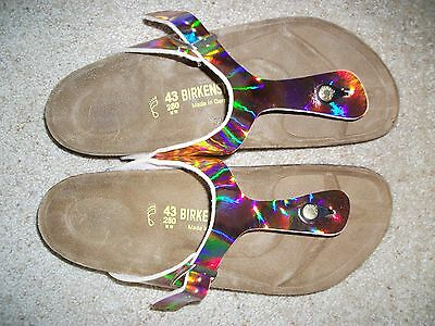 Reduced - Birkenstock - Gizeh - Mirror - Rrp $127 Save $27