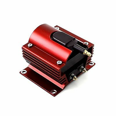 Universal Ignition Coil High Output 12V MSD Ignition Systems 60K Coil Red