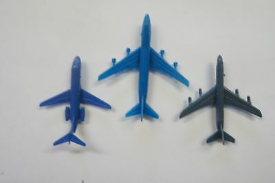 Cereal Toy Big World of Jets Boeing 747, DC-8, DC-9 issued 1977 Sanitarium
