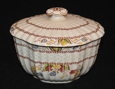 Spode Copeland China Sugar Bowl With Cover Cowslip Pattern