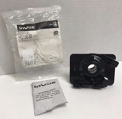 NEW InVue HS156-W Wall-Mount Flat Puck for HS150 White HS156W HS156B27, Free Shi