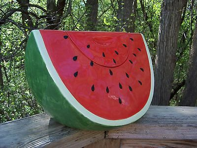 WATERMELON Cookie Jar Designed by Robin Pickens Certified International MINT