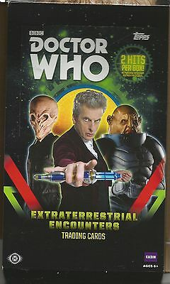 DR. Who EXTRATERRESTRIAL ENCOUNTERS (2016) YELLOW Parallel card set of 100