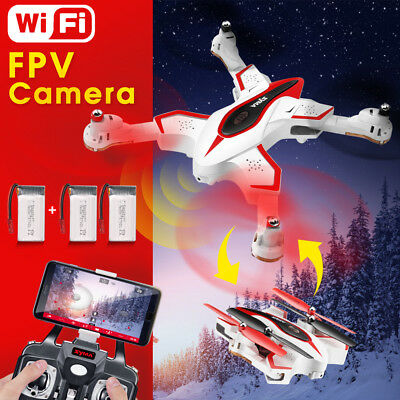 Foldable Drone 6-Axis 2.4G 4CH with WIFI Camera FPV RC Quadcopter Syma X56W