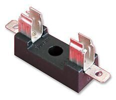 FUSE HOLDER, 6.3X25MM, BASE MOUNT FX0331 - SYSFF02883 By BULGIN