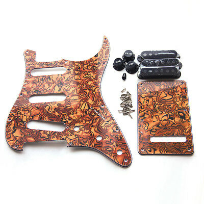 Tiger Stripe Backplate Trem Tremolo Cavity Pickup Cover For Fender Strat Parts