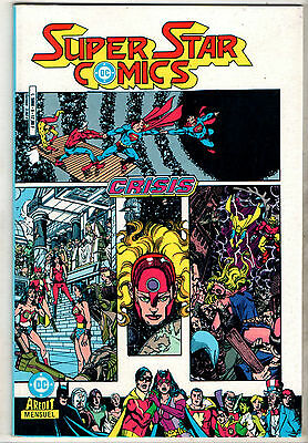 SUPER STAR COMICS n°9 ¤ CRISIS ¤ 1987 AREDIT DC