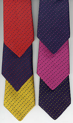 Pin Spot Polka Dot Show Tie Adult's Size UK Manufactured