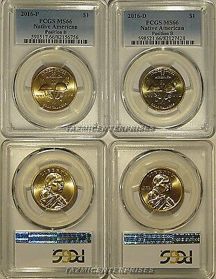 PCGS MS67 2011-D Sacagawea Native American Dollar Position B Bunting $1