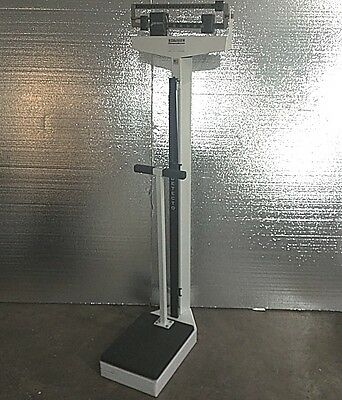 Detecto Physician Doctor Fitness Balance Beam Scale 140 Kg Height Rod Commercial