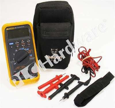 Fluke 787 ProcessMeter Digital Multimeter Loop Calibrator with Lead Set