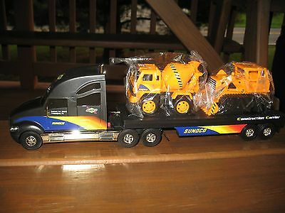 Sunoco 2002 GOLD Construction Carrier Limited Edition