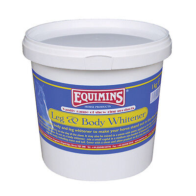 Equimins Jambes & Corps Blanchisseur - 1kg Cuve - Projection