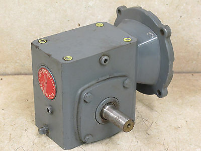 Boston Gear,  15:1 Ratio,  Gear Reducer,  56C,  335 Inch Pounds
