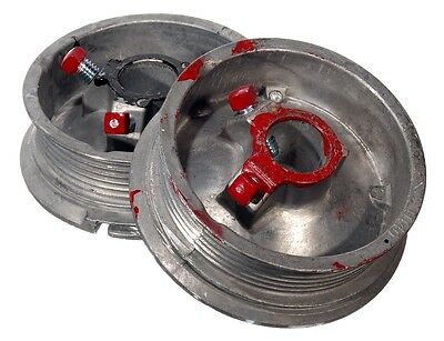 Sectional Garage Door D400-8 Cable Drum Set - Spare Parts