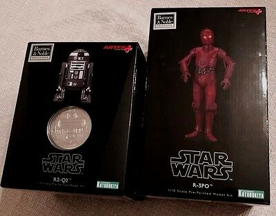 Star Wars Kotobukiya ARTFX Limited Edition R2-Q2 & R-3PO Barnes and Noble Statue