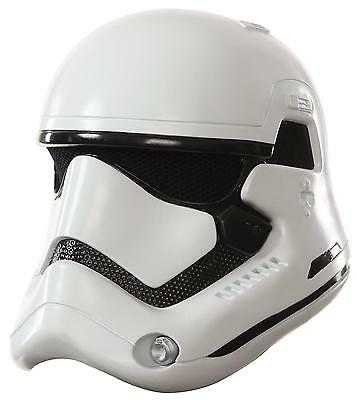 Star Wars Force Awakens Deluxe Stormtrooper Adult 2-Piece Helmet FREE SHIP