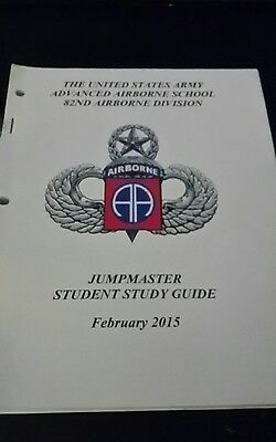 US Army 82nd Airborne Division AAS Jumpmaster studyguide Feb 2015