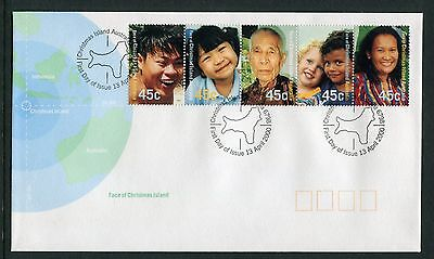 Face Of Christmas Island 2000 - Fdc (Jp)