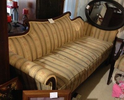 Vintage Victorian Duncan Phyfe Sofa and Chair
