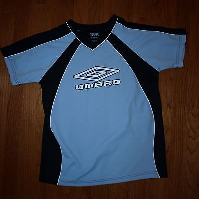 Umbro Blue Soccer Futbol Top L 14-16 NWOT