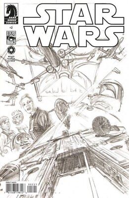 Star Wars #2 (Vol 2) Sketch Art Variant Cover by Alex Ross