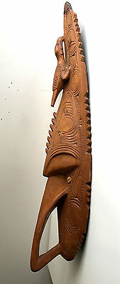 png carved mask Ramu River papua new guinea