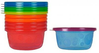 Take and Toss Toddler Bowls With Lids - 8oz, 6 Pack
