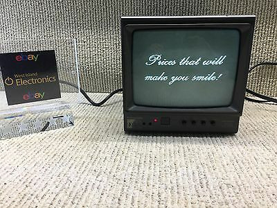 Panasonic TR-990C Black and White CRT Monitor-1996~TESTED