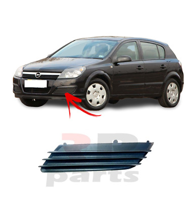 New Opel Vauxhall Astra H 04-07 Front Bumper Fog Grille Trim Left N/s 1400307