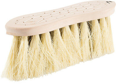 Horze Wood Back Firm Brush Withnatural Mix Bristles - 8Cm - Horse Grooming brush