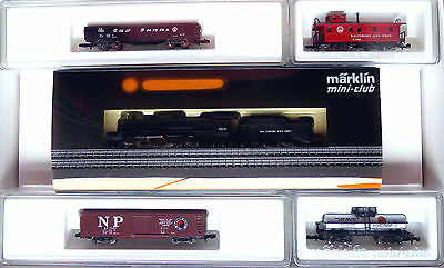 "Märklin Z miniclub 88807,4; US Regional Set ""Baltimore & Ohio"" neu OVP /D623"