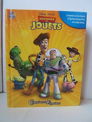 Histoire De Jouets French Francais Toy Story Book Figures Play Mat Playset