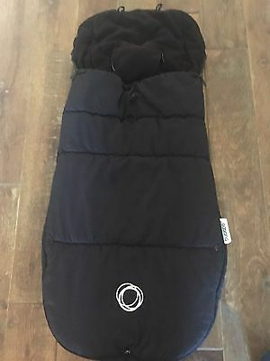 Bugaboo Black Footmuff -universal- Excellent Condition