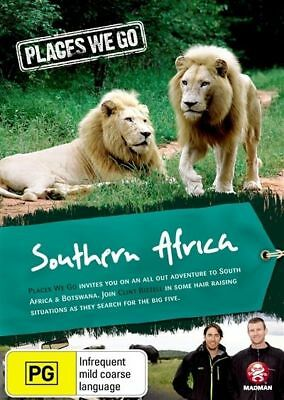 Places We Go - South Africa & Botswana (DVD, 2011) New  Region Free