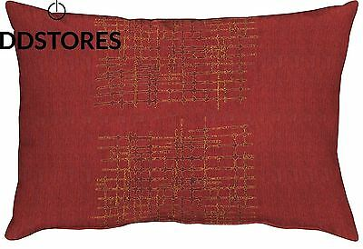 Apeltstoffe 3311 35 x 50 FB. 30 Polyester rouge coussin 15 cm