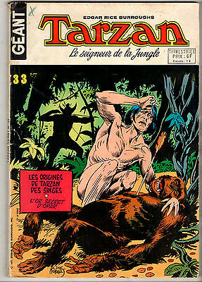 TARZAN GEANT n°33 ¤ 1977 sagedition