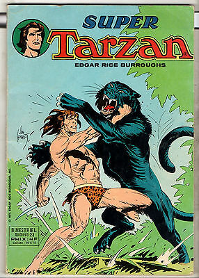 SUPER TARZAN n°23 ¤ 1977 sagedition