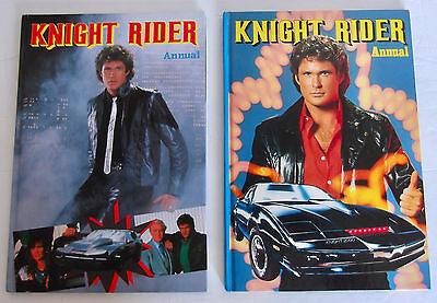 Vintage Knight Rider Annuals X 2 - Great Condition